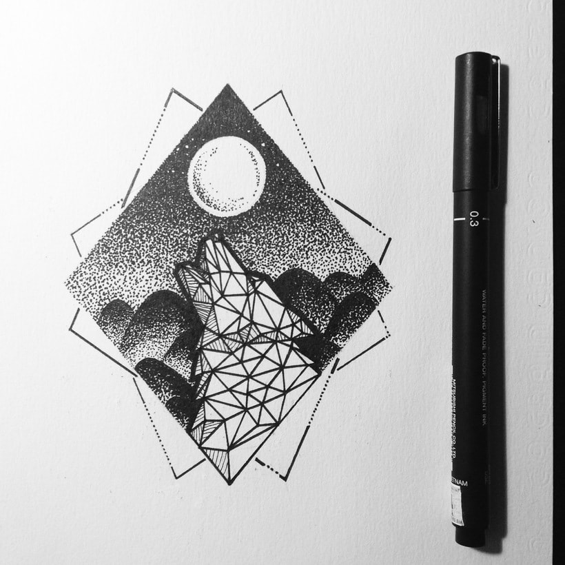 Dots and lines 3