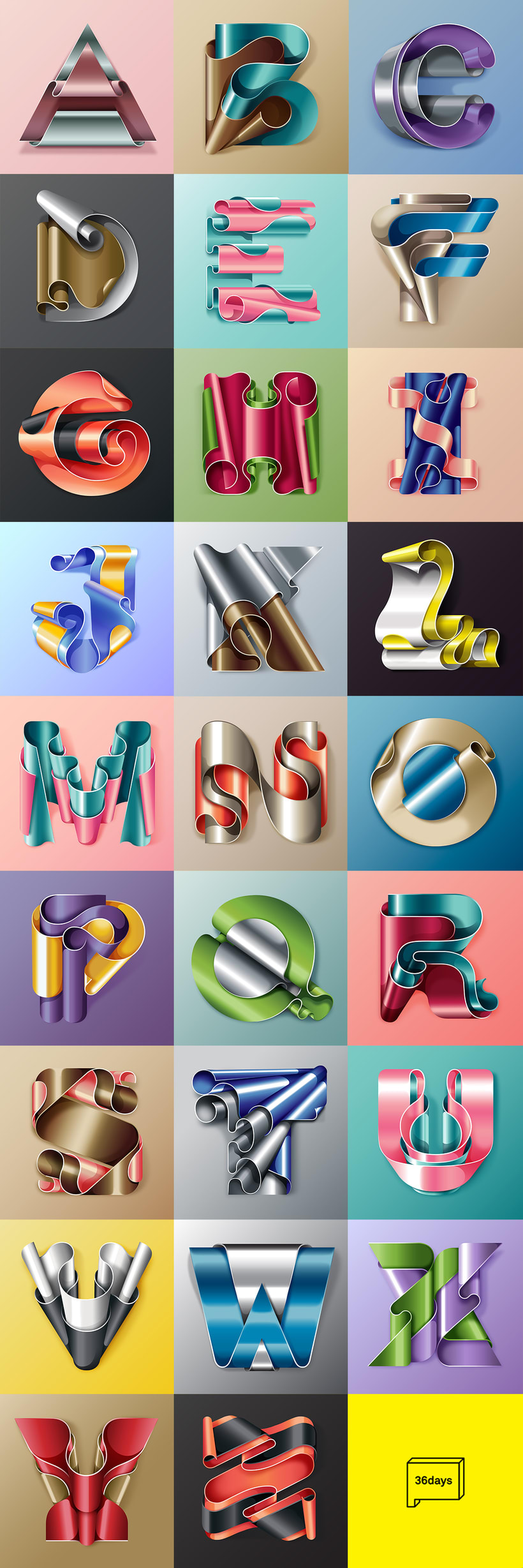 Flexible Surrealism @36daysoftype 2016 1