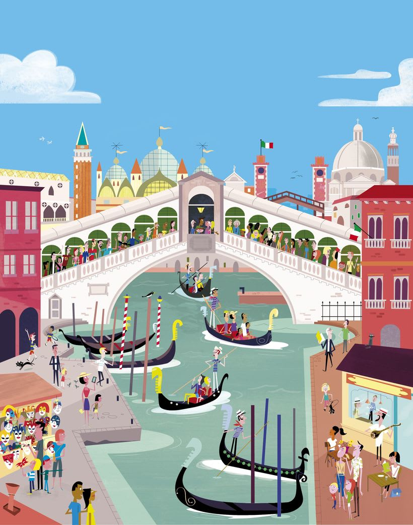 First Sticker Book Venice (Usborne) 0