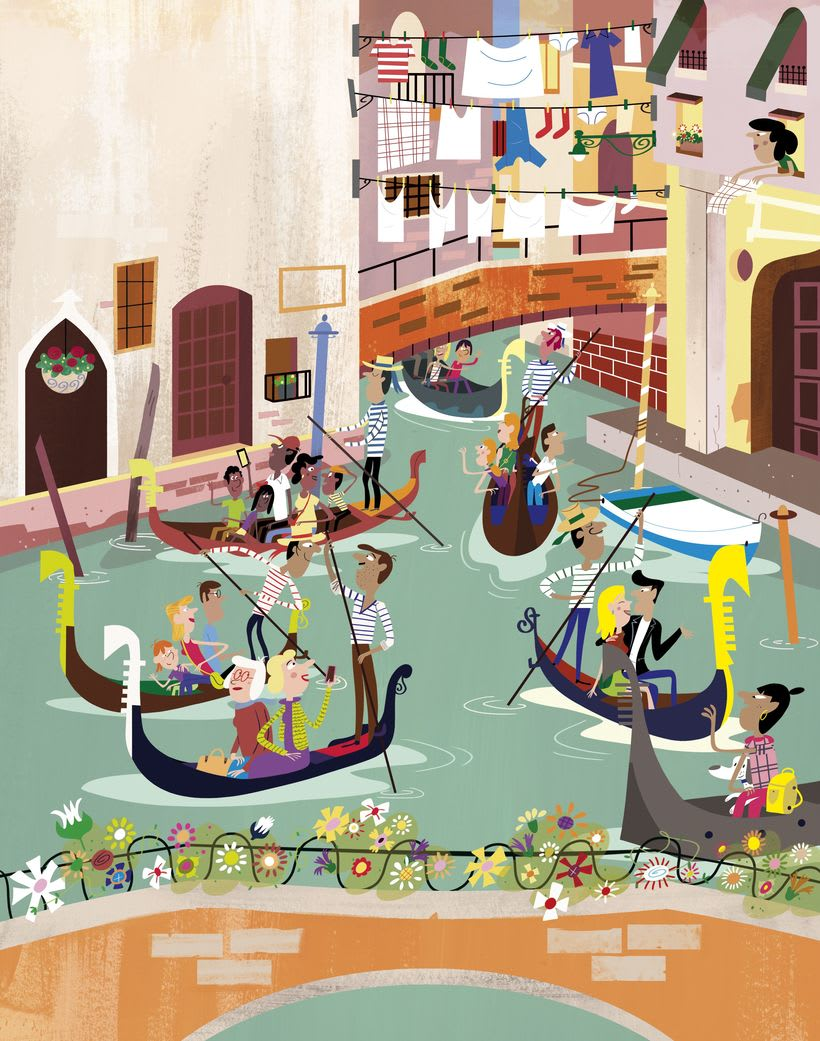 First Sticker Book Venice (Usborne) 1
