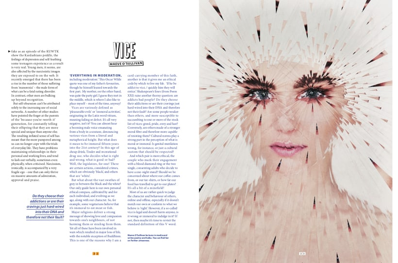 Virtue to Violence for Cult Magazine 3