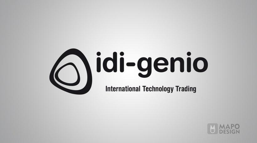 idi-genio, identidad corporativa 0
