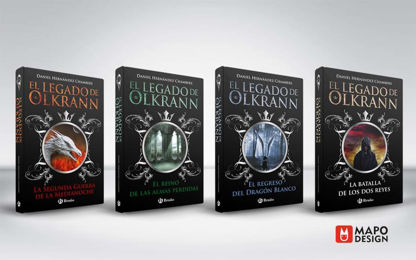 Diseño de colección y interior de El legado de Olkrann 0