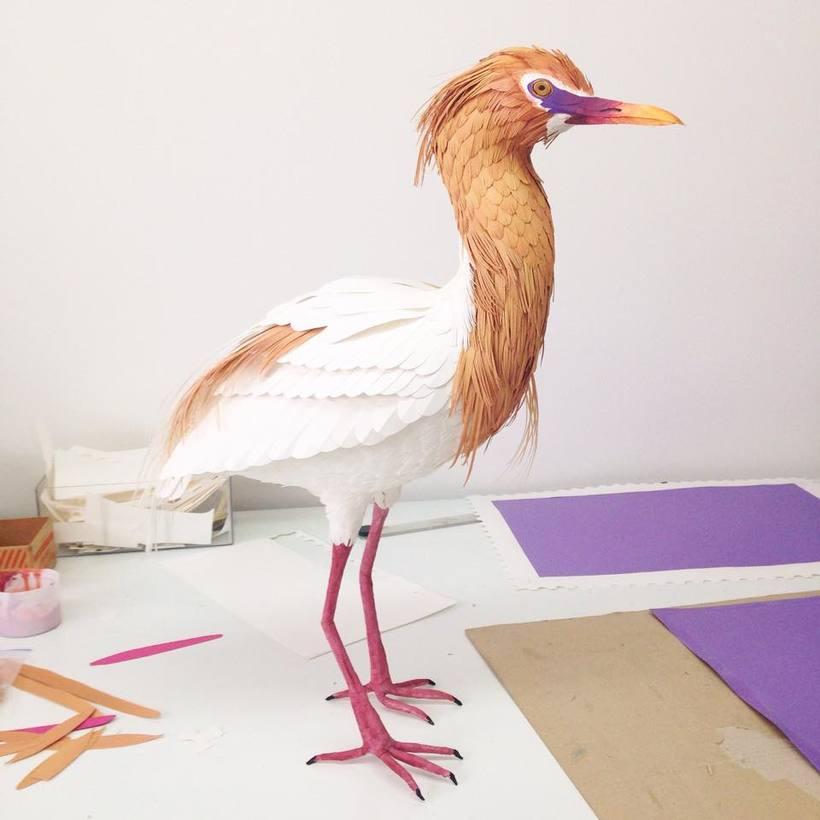 Escultura en papel de Diana Beltrán Herrera 11