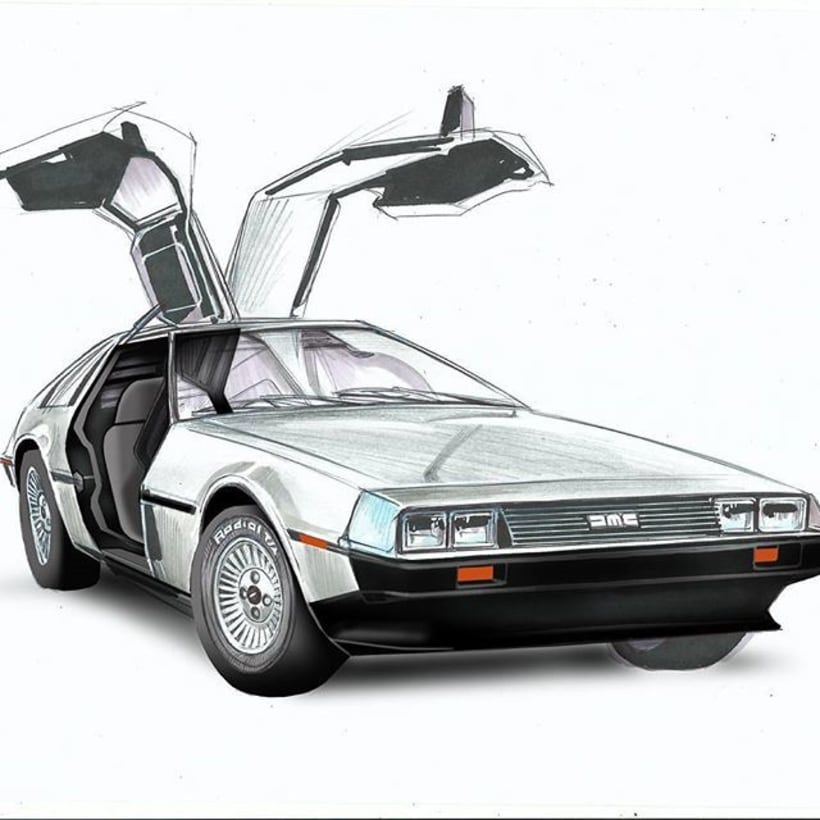 DELOREAN -1