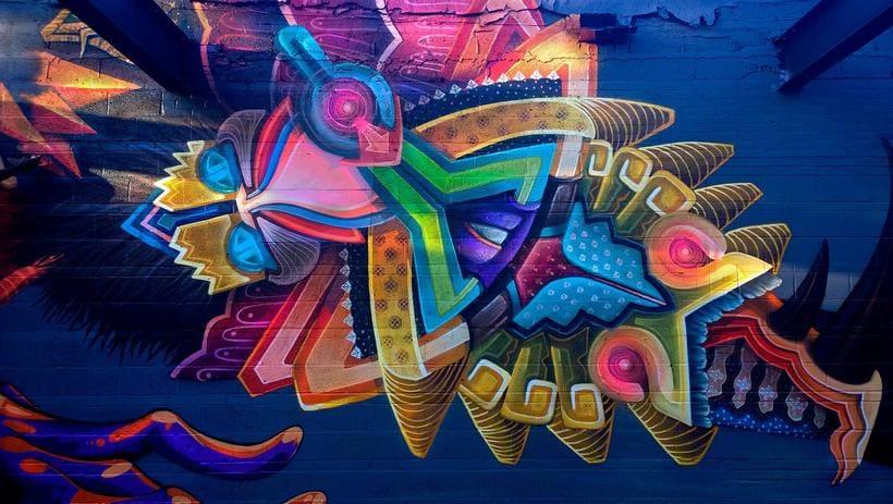 Misticismo y arte urbano de la mano de Curiot 4