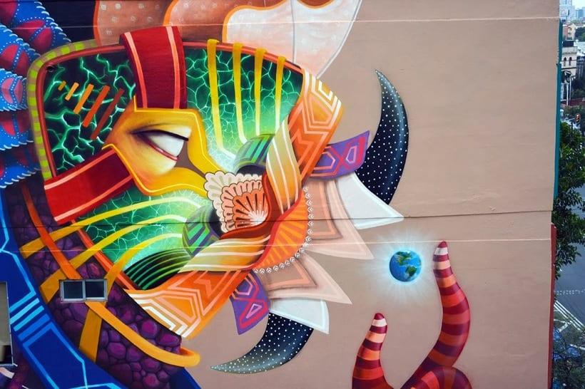 Misticismo y arte urbano de la mano de Curiot 5