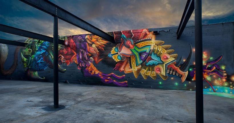 Misticismo y arte urbano de la mano de Curiot 7