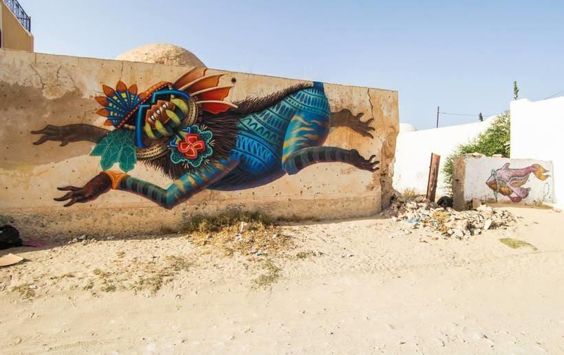 Misticismo y arte urbano de la mano de Curiot 12