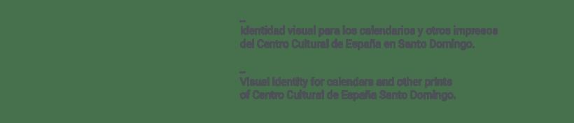 Centro Cultural de España Calendars 2015 1