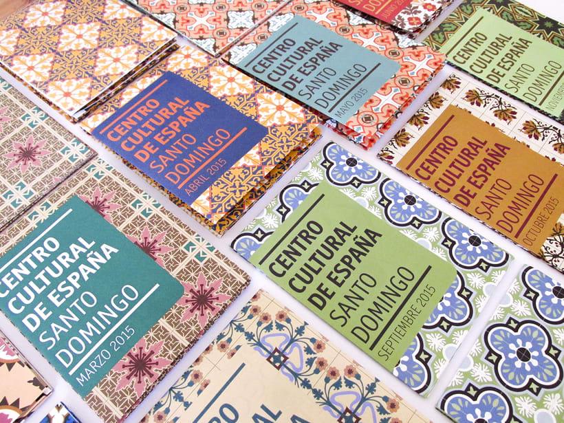 Centro Cultural de España Calendars 2015 0