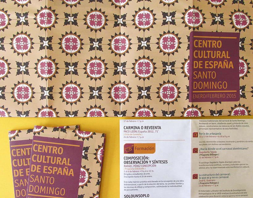 Centro Cultural de España Calendars 2015 12
