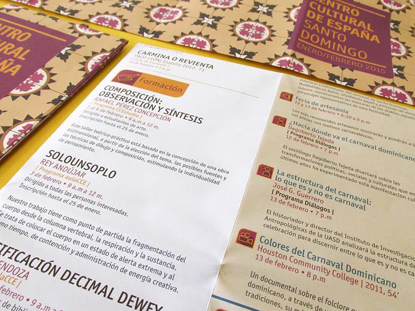 Centro Cultural de España Calendars 2015 13