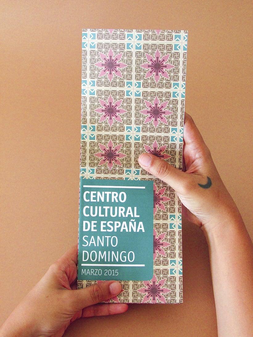 Centro Cultural de España Calendars 2015 16