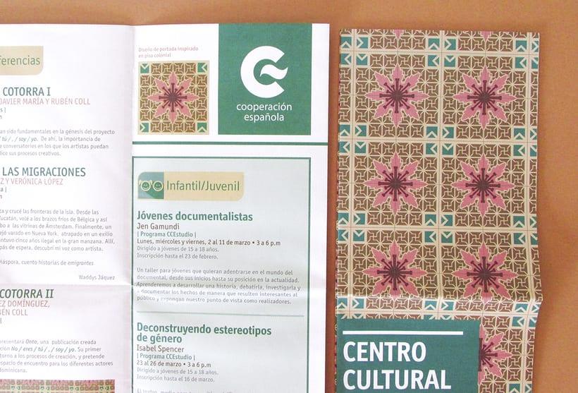 Centro Cultural de España Calendars 2015 17