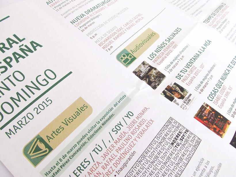 Centro Cultural de España Calendars 2015 18