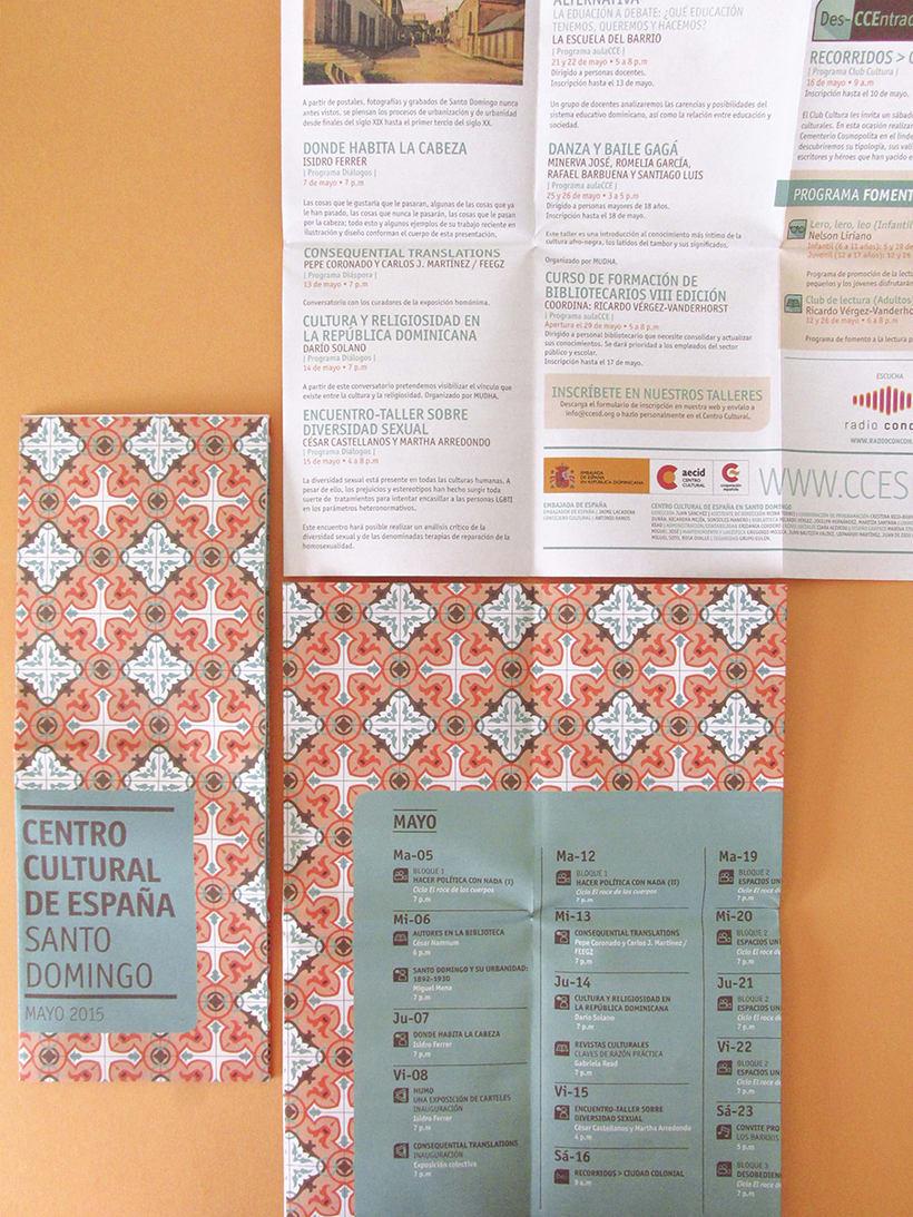 Centro Cultural de España Calendars 2015 33