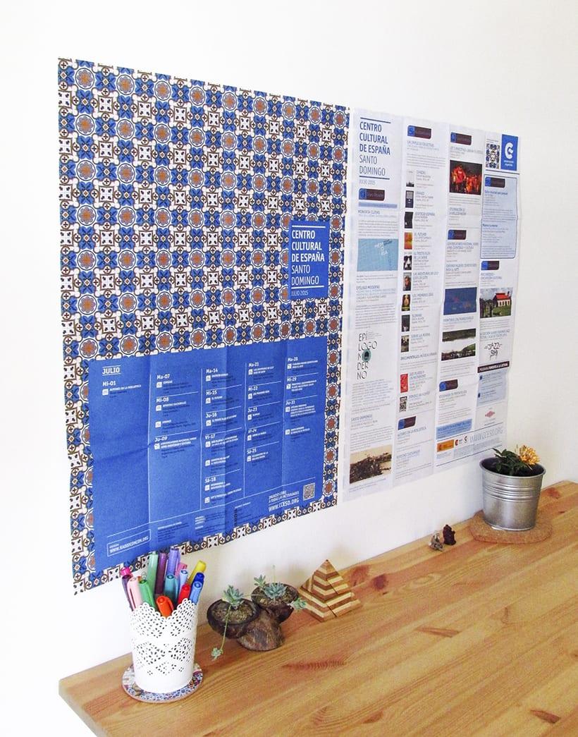 Centro Cultural de España Calendars 2015 50