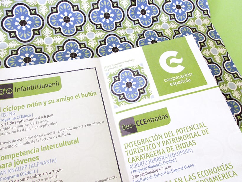 Centro Cultural de España Calendars 2015 61