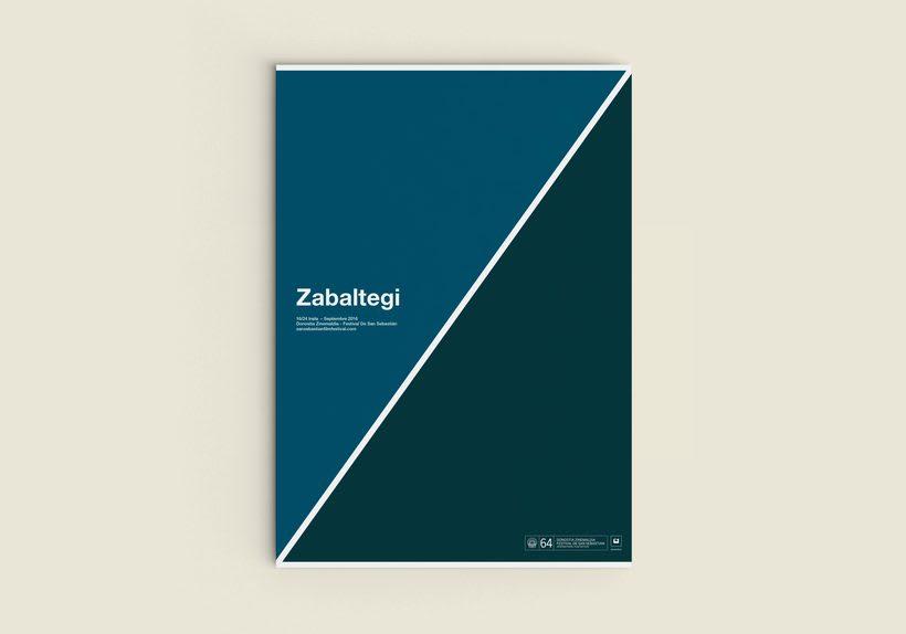 Mención especial en la sección Zabaltegi del Concurso de carteles del Festival de San Sebastián 2016. -1