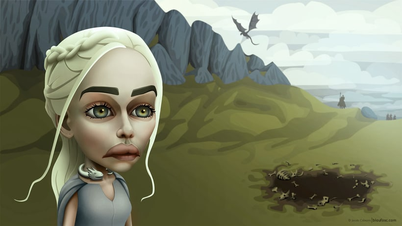 Game of Thrones Caricatures 2