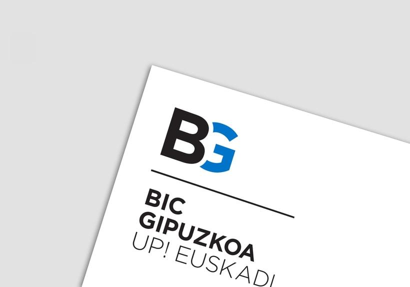 BIC Gipuzkoa, Identidad corporativa. 0