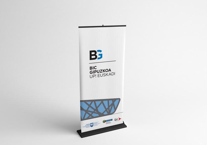 BIC Gipuzkoa, Identidad corporativa. 4