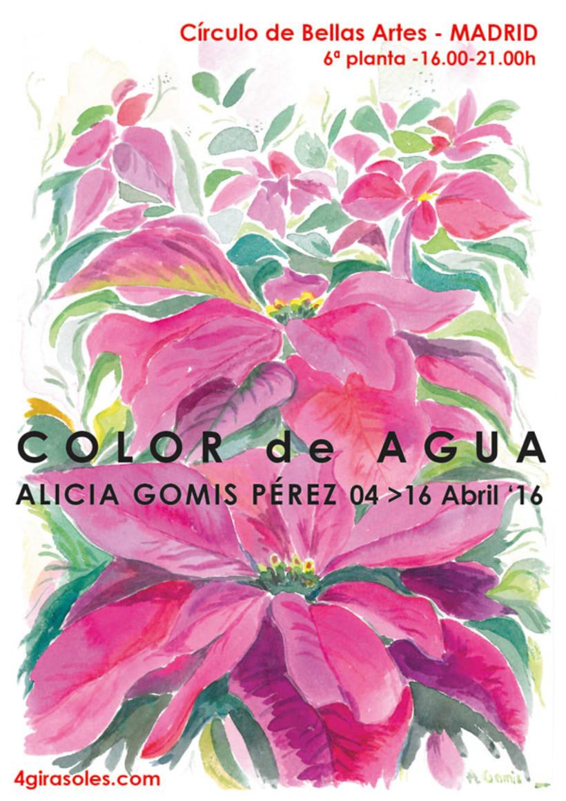 Exposición Color de Agua | Círculo de Bellas Artes Abril 2016 0