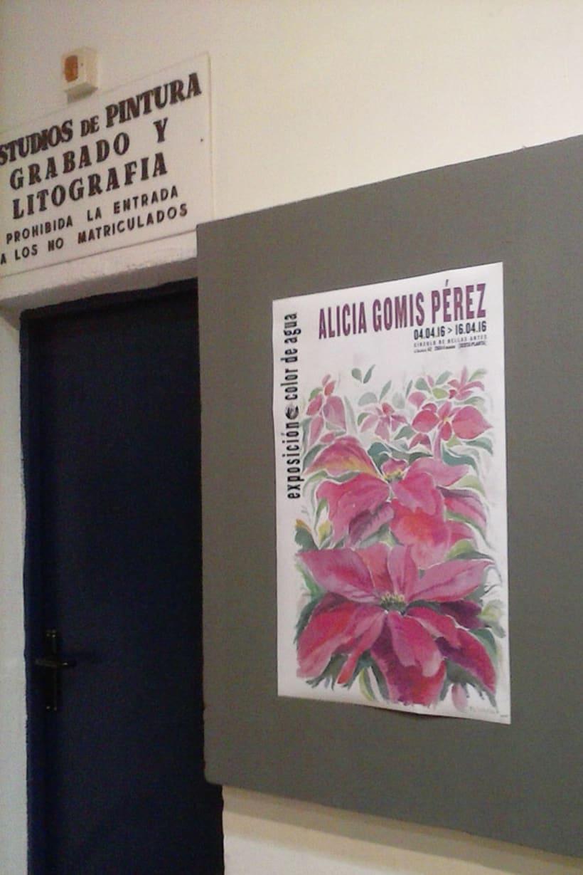 Exposición Color de Agua | Círculo de Bellas Artes Abril 2016 2