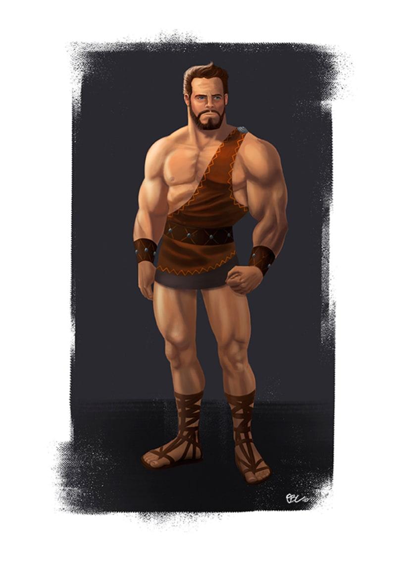 Hércules, Teseo, Deyanira y el Rey Lico 0