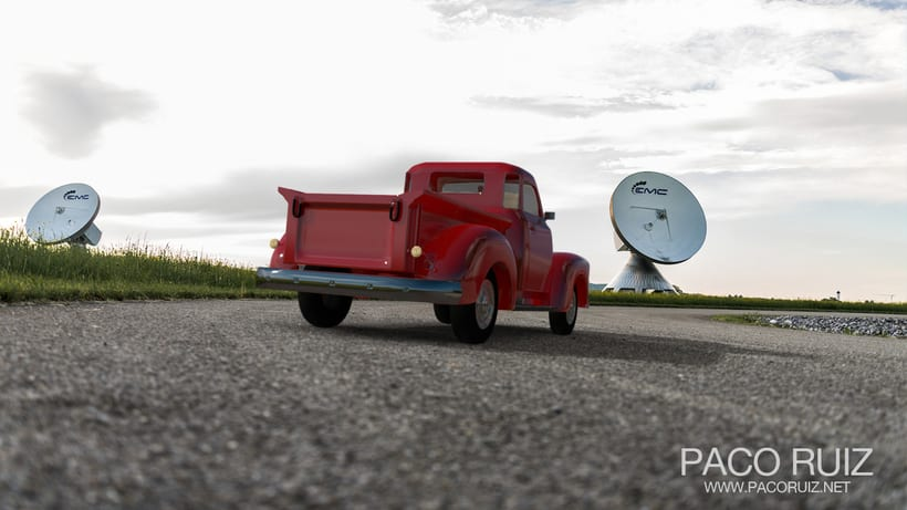 Chevrolet Pickup 1950 | Maya, Arnold, Photoshop 5