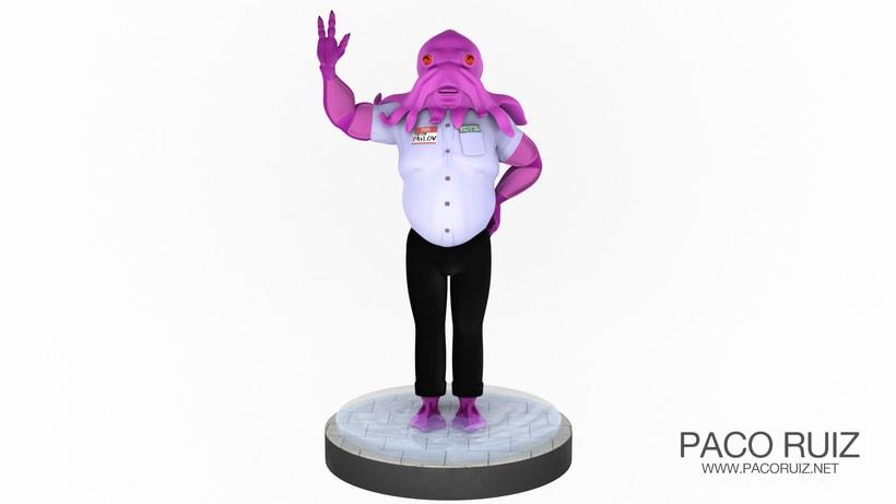Doktor Pavlov | Maya, Arnold, Mudbox -1