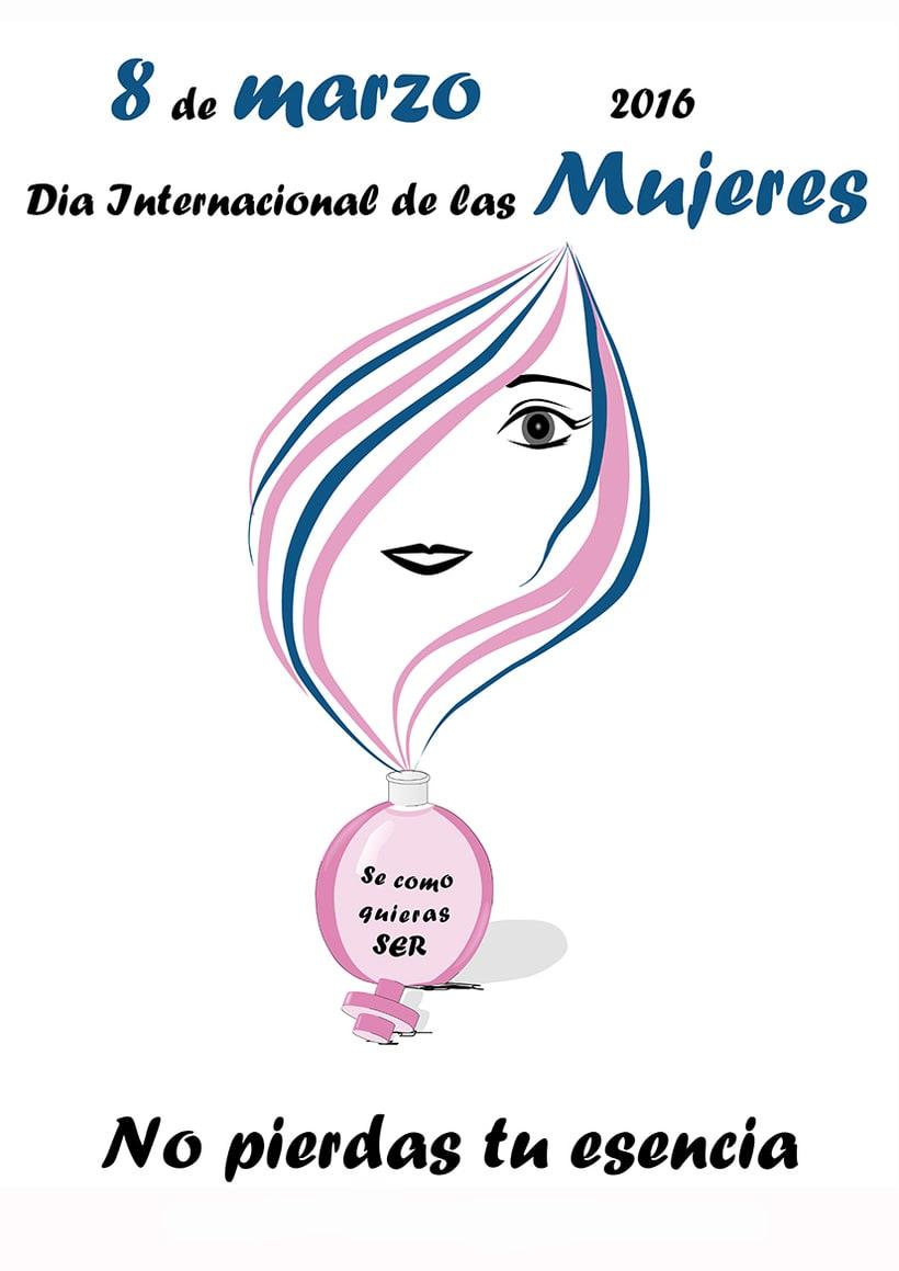 Cartel día internacional de las mejeres 0