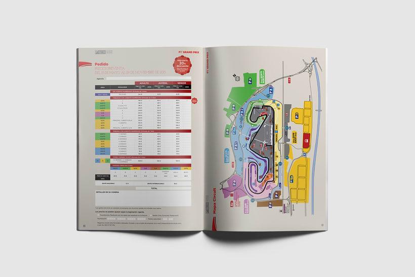 Guía de tarifas. Circuit de  Barcelona-Catalunya 1
