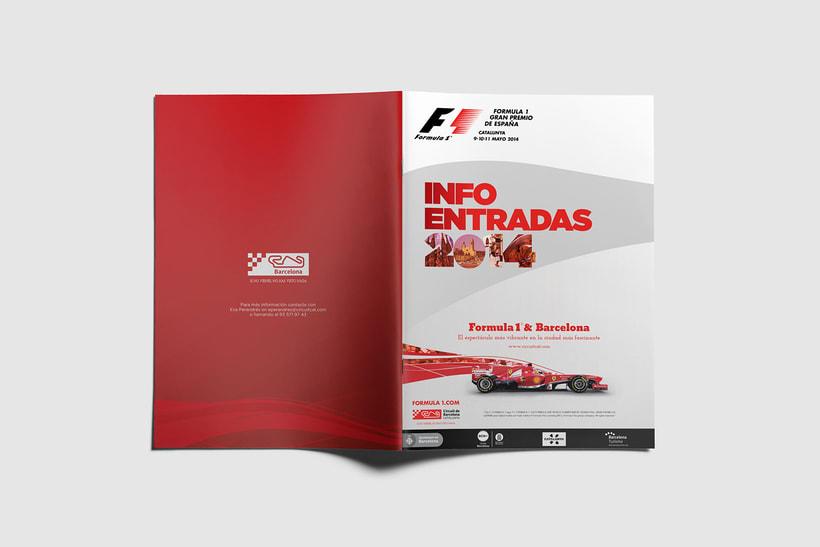 Guía de tarifas. Circuit de  Barcelona-Catalunya 3