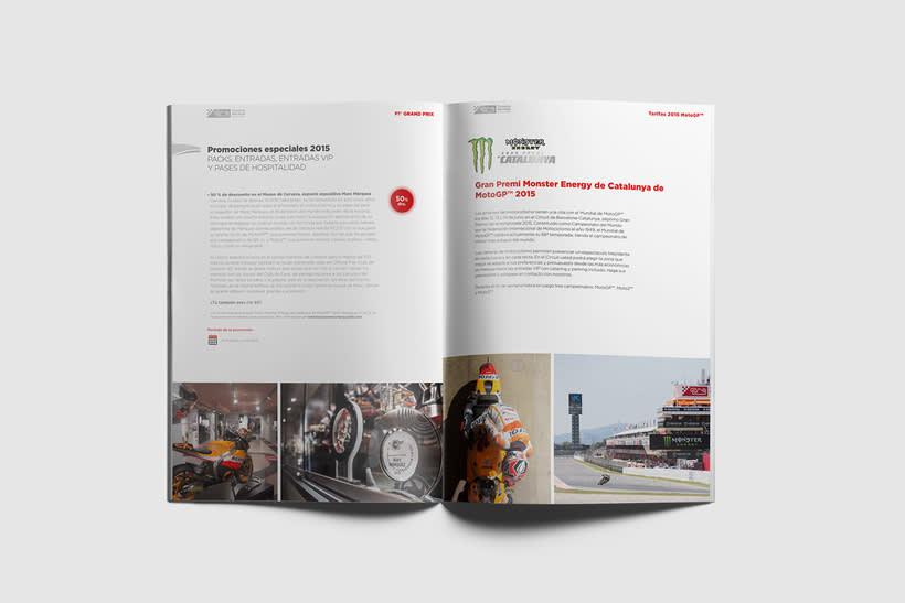 Guía de tarifas. Circuit de  Barcelona-Catalunya 10