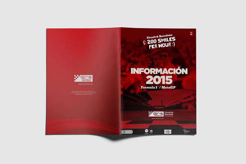 Guía de tarifas. Circuit de  Barcelona-Catalunya 12