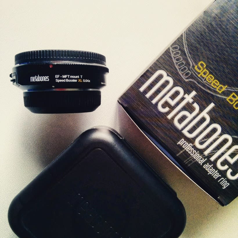Vendo Metabones Speed Booster XL (para GH4) 4