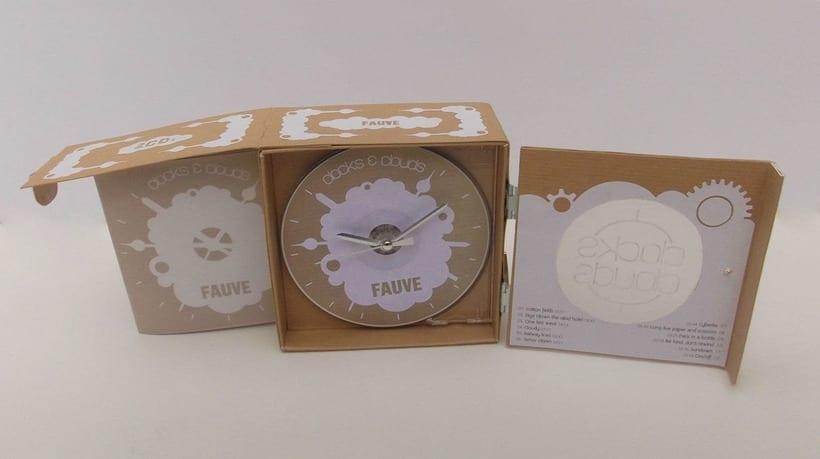 """Doble CD """"Clocks & clouds"""" Fauve 4"""