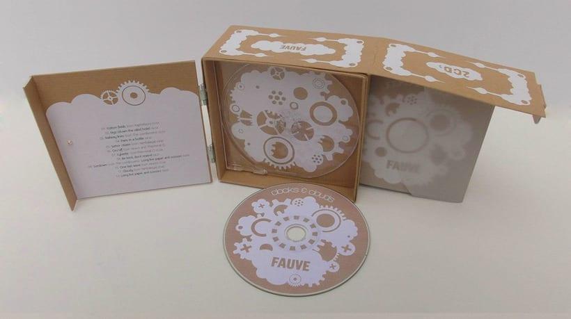 """Doble CD """"Clocks & clouds"""" Fauve 5"""