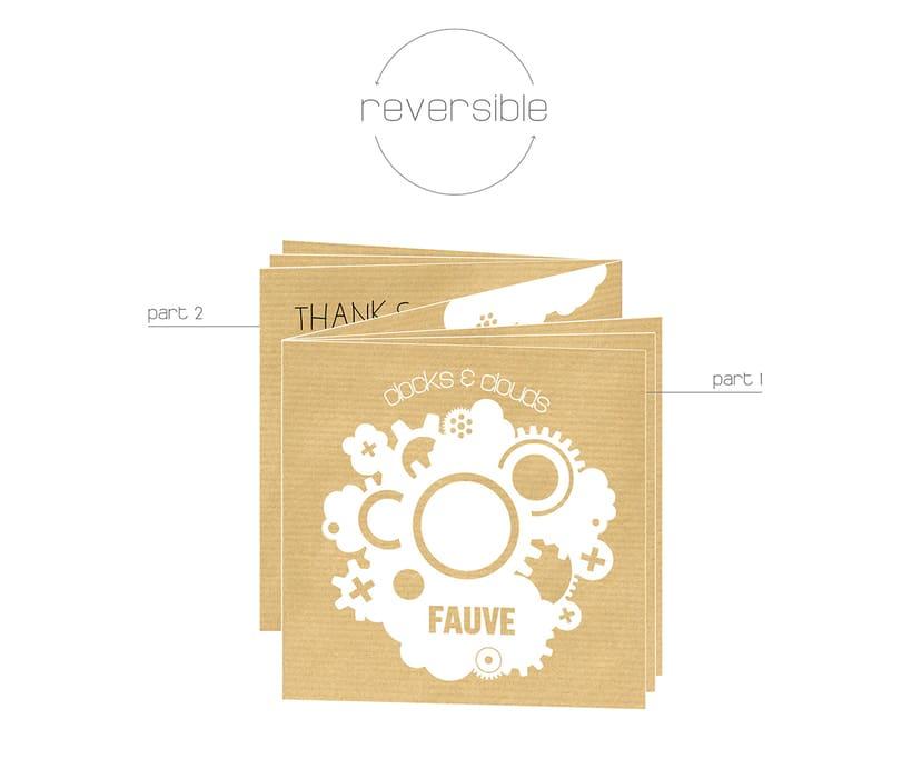 """Doble CD """"Clocks & clouds"""" Fauve 11"""