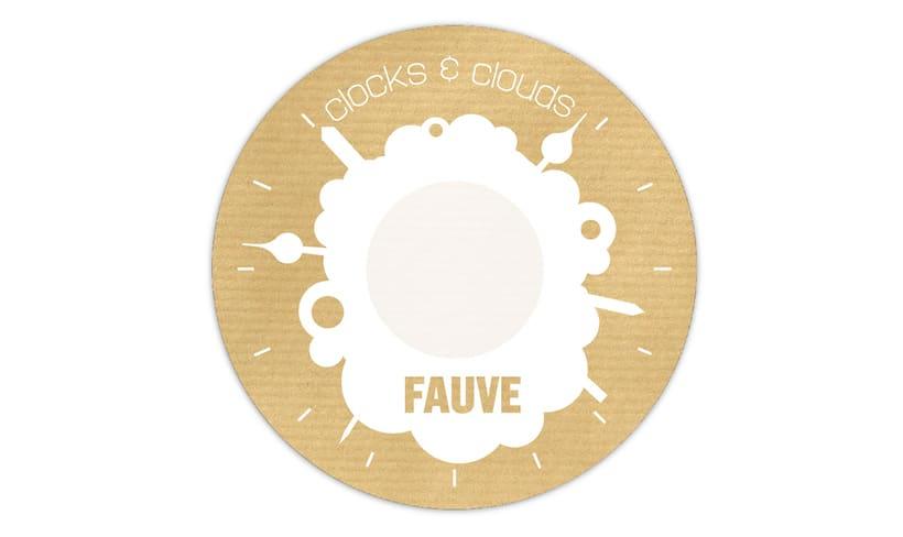 """Doble CD """"Clocks & clouds"""" Fauve 10"""
