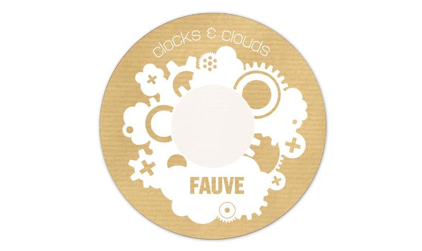 """Doble CD """"Clocks & clouds"""" Fauve 9"""