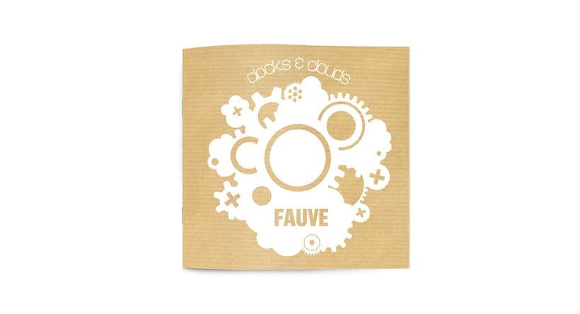 """Doble CD """"Clocks & clouds"""" Fauve 13"""