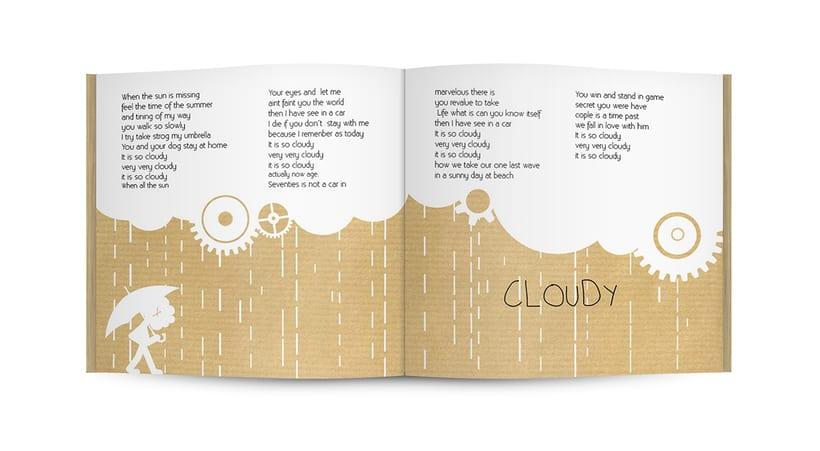 """Doble CD """"Clocks & clouds"""" Fauve 18"""