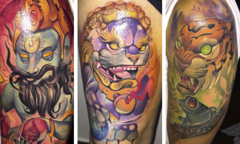 Los 25 mejores artistas del tatuaje en Latinoamérica  27