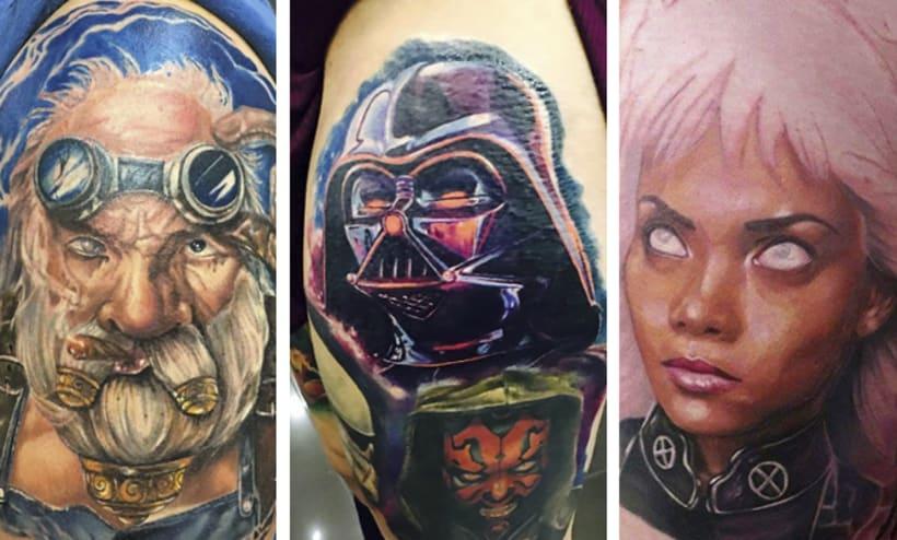 Los 25 mejores artistas del tatuaje en Latinoamérica  37