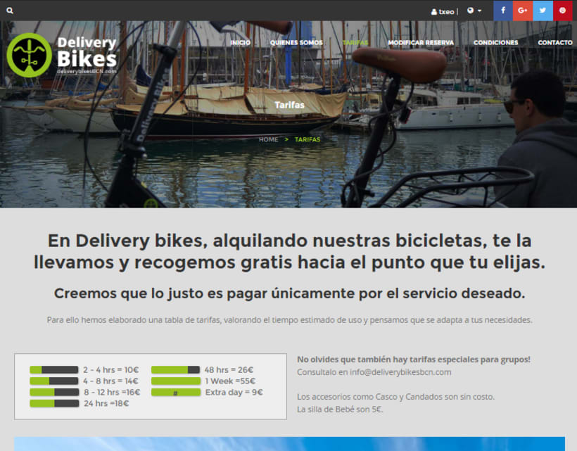 Delivery Bikes BCN 2