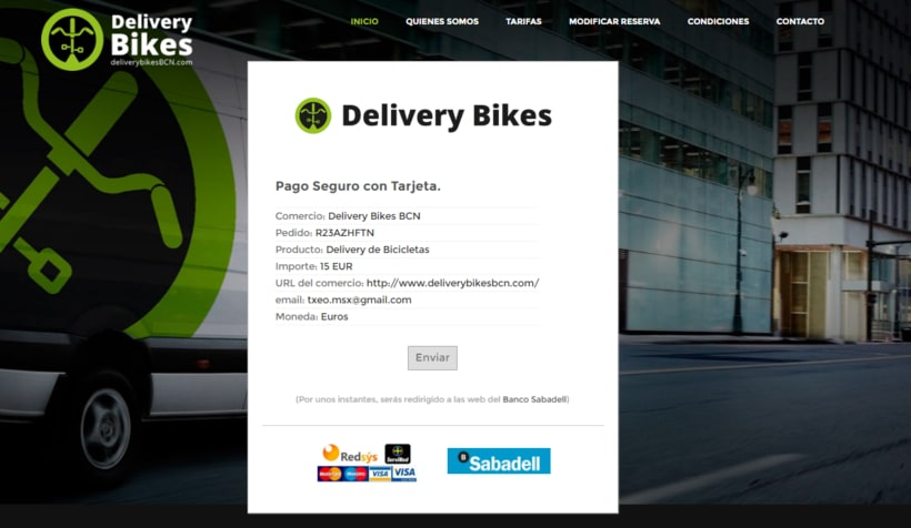 Delivery Bikes BCN 22