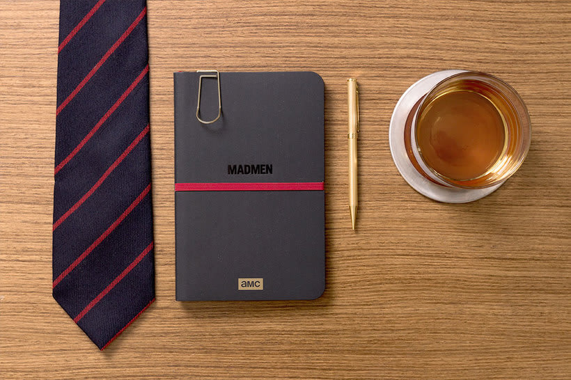 Cuaderno para la serie Mad Men 0